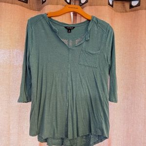 3 quarter sleeve tunic